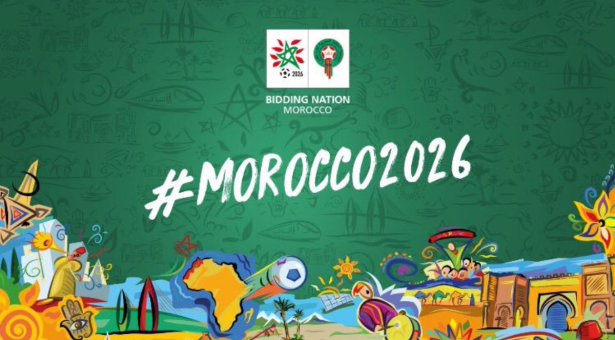 L'Afrique du Sud soutient la candidature du Maroc à l'organisation de la Coupe du Monde 2026