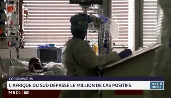Covid-19: l'Afrique du Sud dépasse le million de cas positifs