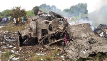 مقتل 7 أشخاص في تحطم طائرة شحن بجنوب السودان