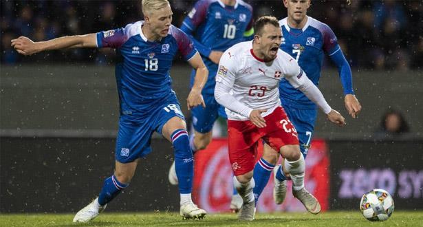 سويسرا تعزز حظوظها بالفوز على إيسلندا