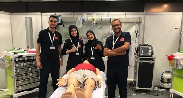 """فوز طلبة طب مغاربة بالمسابقة العالمية للمحاكاة الطبية """"سيمكاب"""" بالتشيك"""