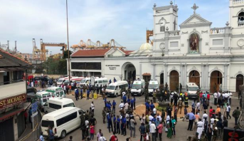 قصة عائلة نجت من الموت في تفجير واحدة من الكنائس في سريلانكا