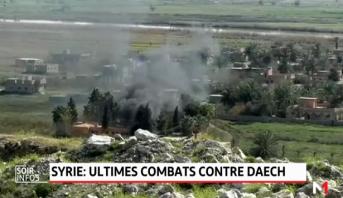 Syrie: ultimes combats contre Daech