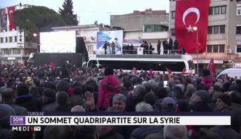 Syrie: Erdogan annonce un sommet quadripartite sur Idleb