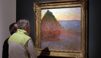 Un Monet vendu aux enchères à New York pour plus de 110 millions de dollars