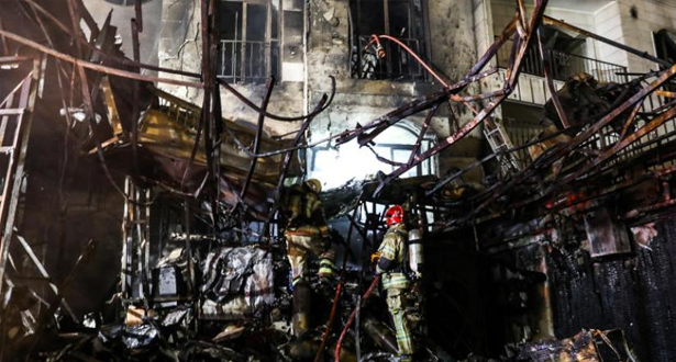 19 قتيلا على الأقل في انفجار بمركز طبي في طهران