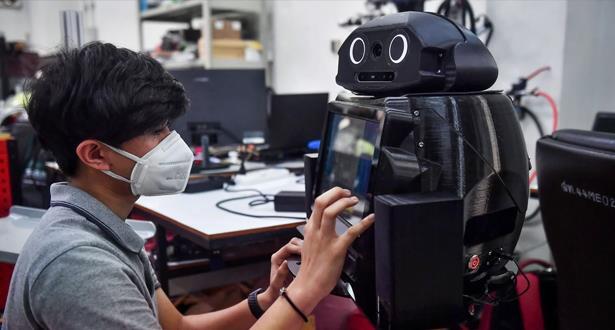"""""""روبوتات نينجا"""" في مستشفيات بانكوك للمساعدة في محاربة كورونا"""