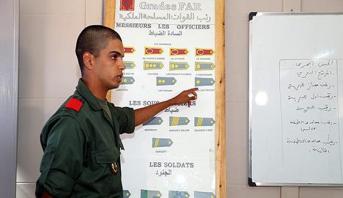 الانطلاق الرسمي لعملية التكوين في إطار الخدمة العسكرية بمراكز التكوين التابعة للقوات المسلحة الملكية