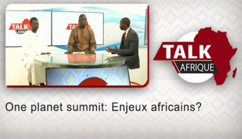 Talk Afrique > One planet summit: Enjeux africains?
