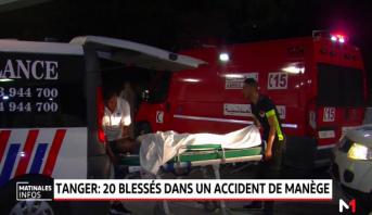 Tanger: au moins vingt blessées dans un accident de manège