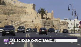 Baisse des cas de Covid-19 à Tanger