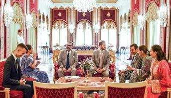 أنشطة مكثفة للأمير هاري وعقيلته بالرباط والملك محمد السادس يقيم حفل شاي على شرفهما