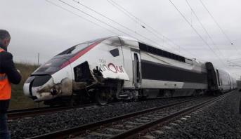 France: le déraillement d'un TGV fait une vingtaine de blessés