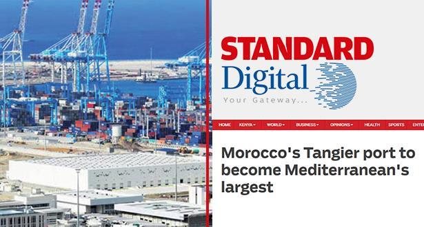 صحيفة كينية تبرز أهمية ميناء طنجة
