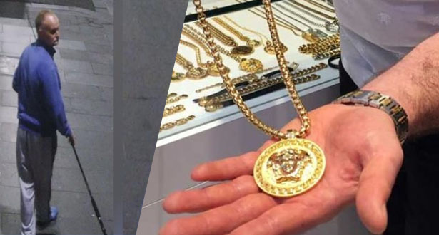 فيديو .. لص يستخدم صنارة صيد لسرقة عقد ذهبي من متجر في أستراليا