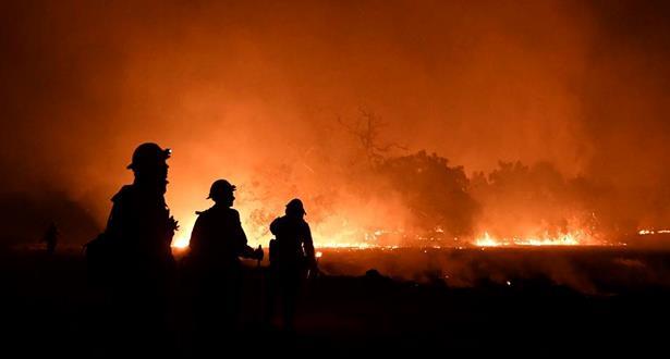 السيطرة على حريق بإحدى الضيعات الفلاحية ضواحي سلا