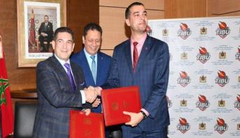 توقيع اتفاقية شراكة لدعم التربية عبر ممارسة كرة السلة في المؤسسات التعليمية