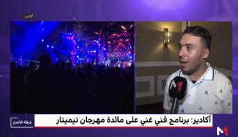 مهرجان تيميتار .. حوار مع الفنان زكرياء الغافولي