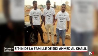 Tindouf:  Sit-in de la famille de Sidi Ahmed Al Khalil