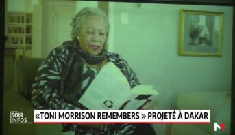 Dakar: l'ambassade américaine rend hommage à Toni Morrison