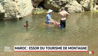 Maroc: le site naturel d'Akchour attire de plus en plus de touristes