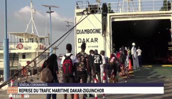 Sénégal-Coronavirus: reprise du trafic maritime Dakar- Ziguinchor