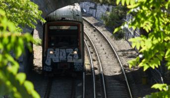 Athènes: 8 passagers légèrement blessés suite au déraillement d'un train