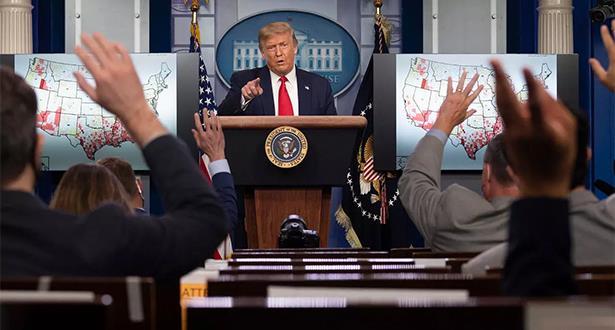 ترامب يلغي المؤتمر الوطني للحزب الجمهوري بسبب فيروس كورونا