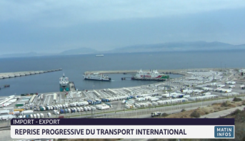 Import-export: reprise progressive du transport international
