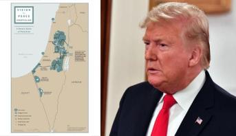 ترامب يعلن عن خطته للسلام في الشرق الأوسط