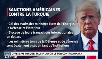 Offensive turque: Trump durcit le ton contre Ankara