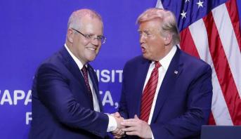 أستراليا .. المعارضة تطالب بكشف المكالمة الهاتفية بين رئيس الوزراء وترامب