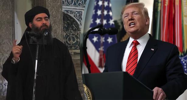 """ترامب يصف مشهد مقتل البغدادي .. """"إنه كفيلم سينمائي"""""""