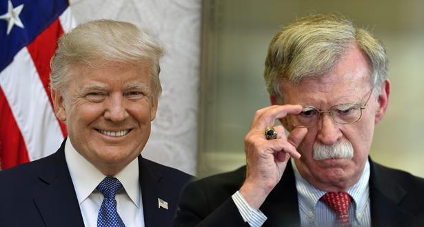المحققون في عزل ترامب يرغبون في ان يدلي بولتون بشهادته