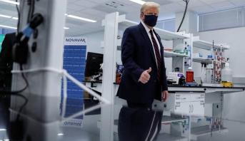 ترامب يعلن أن لقاحا لكورونا قد يتوفر خلال شهر