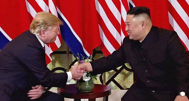 """ترامب تلقى """"رسالة رائعة"""" من كيم"""