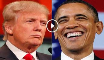 فيديو .. كيف يتعامل أوباما وترامب مع مقاطعيهم أثناء التجمعات الخطابية؟