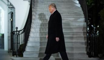 تقارير إعلامية: ترامب يغادر واشنطن