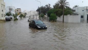ارتفاع عدد ضحايا فيضانات تونس