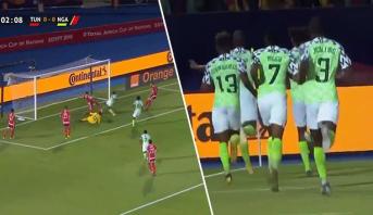"""نيجيريا تفاجئ """"نسور قرطاج"""" بهدف مبكر في مباراة الترتيب"""