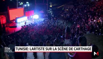 Festival de Carthage: Lartiste fait vibrer les festivaliers