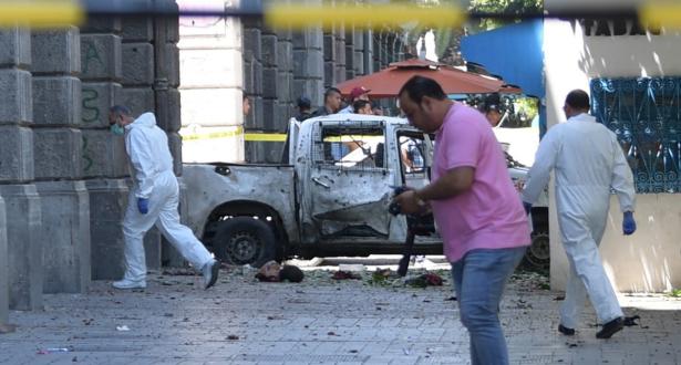 تونس.. خمسة جرحى في هجوم انتحاري قرب سيارة للأمن وسط العاصمة