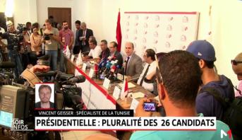 Présidentielle en Tunisie:  pluralité des 26 candidats