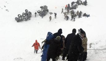 ارتفاع ضحايا الانهيار الثلجي شرق تركيا إلى 26 قتيلا