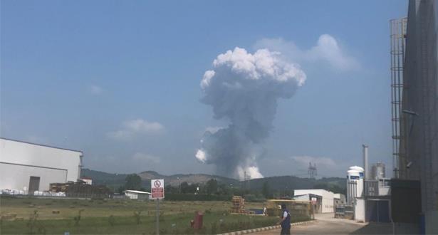 أكثر من 40 جريحا في انفجار داخل مصنع للألعاب النارية في جنوب غرب تركيا