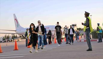 تطوان .. عودة 453 مغربيا من العالقين بتركيا بسبب جائحة فيروس كورونا المستجد