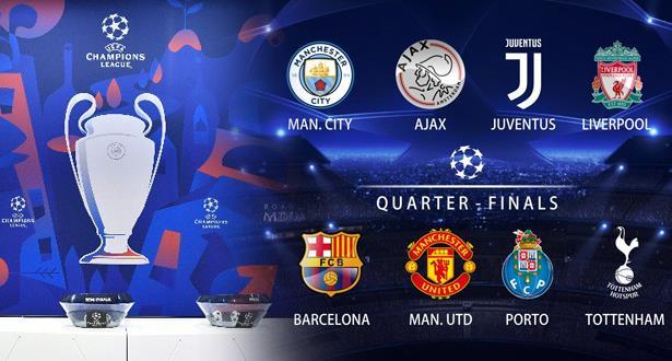 Ligue des Champions: les chocs des quarts de finale