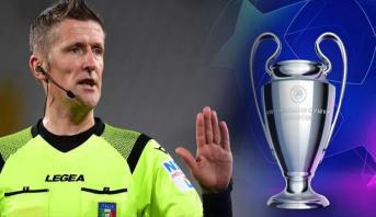 دوري أبطال أوروبا.. الإيطالي أورساتو حكما للمباراة النهائية