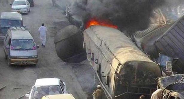Explosion d'un camion-citerne en Ouganda: le bilan s'alourdit à 19 morts (police)