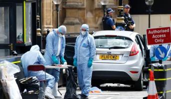 ثلاثة جرحى في اعتداء بسيارة أمام البرلمان البريطاني